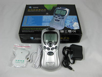 Wholesale Digital Therapy Electric Massager - Drop ship--Digital Therapy low frequency pulse electric massager 1pcs   lot