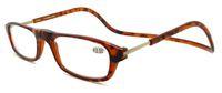 Wholesale Read Reader - (100pcs lot) Adjustable Unisex Magnetic reading glasse folding reading glasses Front Connect Reader power +1.0-4.0