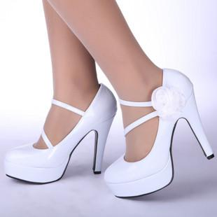 cheap bridal shoes bride white shoes wedding shoes high heeled shoes 10 cm drop shipping sh02a as low as 3362 also buy size 2 wedding shoes slingback