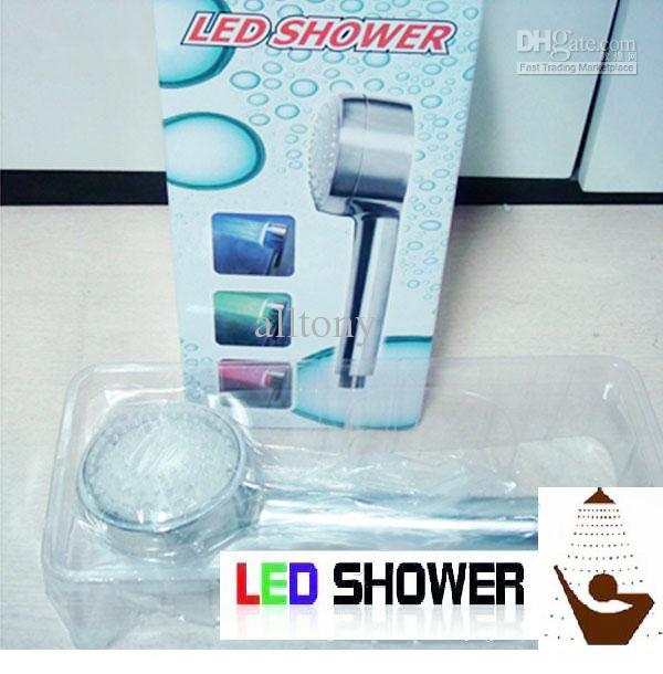 2018 Led Shower Head Lights Water Home Bath Room Shower Head Sprinkler  Multi Color Temperature Changing From Alltony, $33.99 | Dhgate.Com