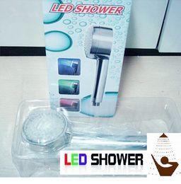 Wholesale Head Bath Room - LED SHOWER HEAD LIGHTS WATER HOME BATH ROOM SHOWER HEAD SPRINKLER MULTI-COLOR TEMPERATURE CHANGING