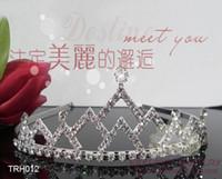 Wholesale Rhinestone Tiara Assorted - Loyal Queen Tiara Crown Skyrim Crystal Crown Queens Tiara Headband 60pcs lot Assorted Styles