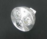 Wholesale Spot 12v Led 6w Mr16 - MR16 3W 12V White\warm white\white 3 LED Bulb Spot Light Lamp Downlight 10pcs lot