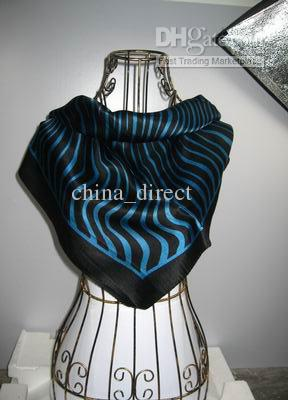 Square 100% silk Neck scarves silk scarf SCARVES #1790