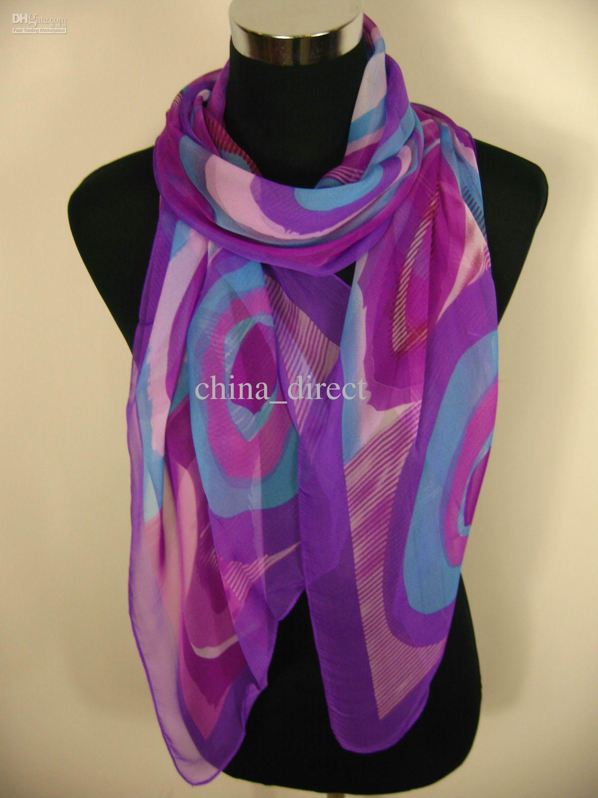 Bufandas de la bufanda de la bufanda de las mujeres de la muchacha de la manera / # 1802