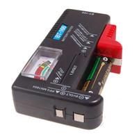 Wholesale Battery Aa C - Wholesale Free Shipping New Universal Battery Tester Checker AA AAA C D 9V Button