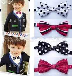 Wholesale Wholesale Toddler Neckties - Baby Boys Tuxedo BowTies Necktie Toddler TUXEDO & formal suit BOWSTIES kids necktie neckbow neck tie