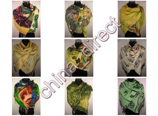 Мода обруч Шали шарф шарфы шарф Neckscarf платок обернуть /много #1864