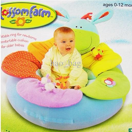 Elc Blossom Farm Sit Me Up Cosy Baby Seat Baby Play Mat