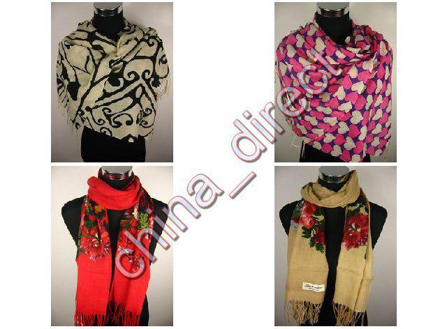 Pashmina Wool Szal Szalik Cashmere Wrap Neckscarf Scarf Wrap 12 sztuk / partia # 1886