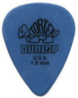 Wholesale wholesale celluloid guitar picks - 72 piece Guitar Picks 1.0 mm BLUE Dunlop Tortex Guitar Picks Free shipping