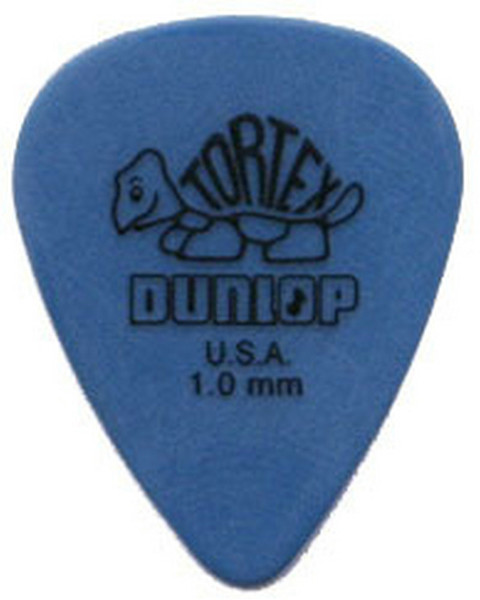 top popular 72 piece Guitar Picks 1.0 mm BLUE Dunlop Tortex Guitar Picks Free shipping 2019
