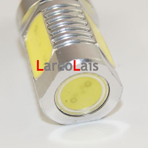 2 x 1156 BA15S 6W High Power Super Bright Auto LED Draai Rem Achterlampen Lamp DC 12V White