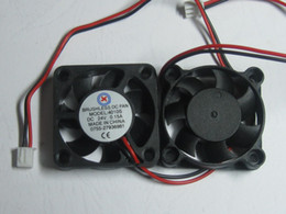 $enCountryForm.capitalKeyWord Canada - Brushless DC Cooling 7 Blade Fan 4010S 24V 40x40x10mm Black 2 Wires 2 Pcs Per Lot Hot Sale