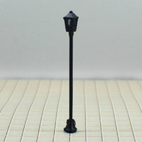 Wholesale Model Lamppost - T1 HO scale train layout model lamppost lamp scale: 1:76~1:100 Size: Approx. 3.0cm~6.0cm free shippi