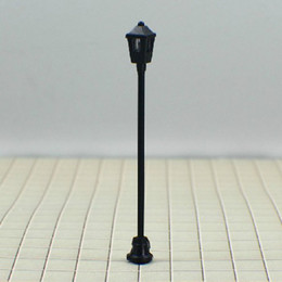 Wholesale Ho Scale Lamppost - T1 HO scale train layout model lamppost lamp scale: 1:76~1:100 Size: Approx. 3.0cm~6.0cm free shippi