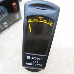 Wholesale Joyo Clip Tuner - JOYO JT-11 Digital Clip-on Tuner Violin Bass Guitar Ukulele MU0064