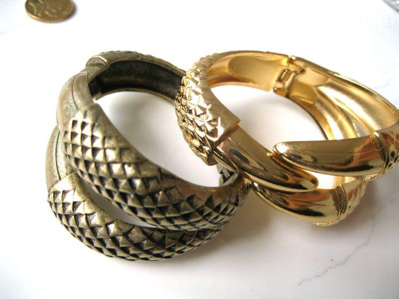 Cena fabryczna!!! Urok złota bransoletka / bransoletki srebrne z kształtem talonu 1 sztuk
