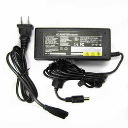 Wholesale Uk Power Plug Sale - hot sale!!AC 100V-240V to DC 12V\5A Adapter Power Supply for LED Strip LED Driver AU\USA\EU\UK plug