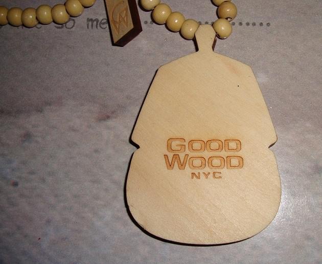 PHARAOH PIECE VARIOUS COLORS GOOD WOOD NYC NECKLACE Pharaoh Piece 10pcs/lot