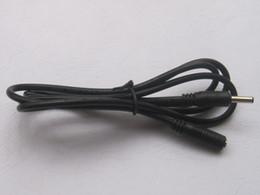 Pc power dc jack online-3 unids Jack DC Power 3.5x1.35mm Hembra a 3.5x1.35mm Macho Cable 100 cm 1 m CALIENTE Venta de ALTA calidad