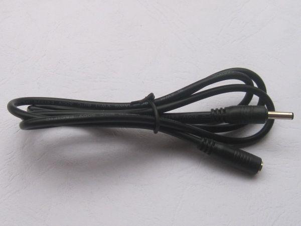 3 pcs DC Power Jack 3.5x1.35mm Female to 3.5x1.35mm Male Plug Cable 100cm 1m HOT Sale HIGH Quality