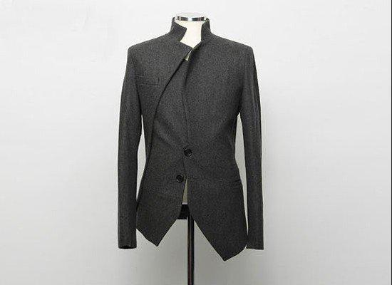2017 Korean Fashion Men's Suit Coat Irregular Designer Blazer ...