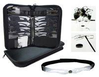 kit de fabricación de plantillas al por mayor-Maquillaje Permanente Plantillas de Cejas 8 Diseños Accesorios de Maquillaje