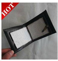 Wholesale Magic Fire Wallets - 2016 New fire Pu wallet magic trick magic props magic toy magic show product toy gift
