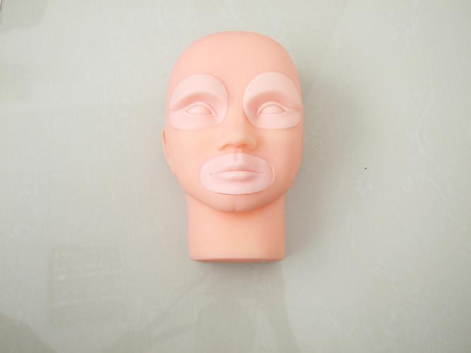 Tatuaje permanente Maquillaje de práctica en 3D Piel de maniquí con inserciones Kits de cosméticos Suministro para principiantes en tatuajes