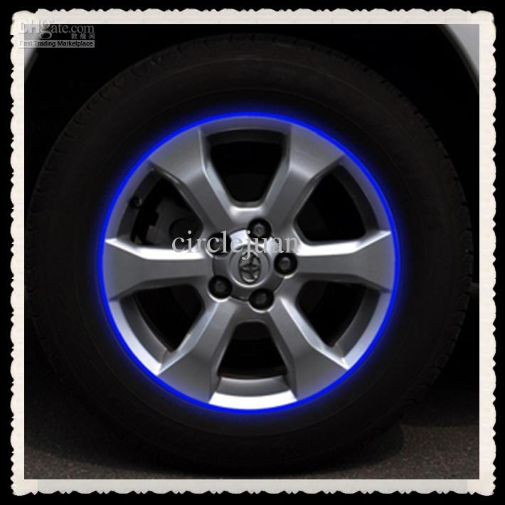 Car Stickers Car Motorcycle Rim Stripes Wheel Decals Tape - Cool car stripes