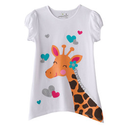 Wholesale kids frocks wholesalers - girls jumpers tshirts kids tees shirts frocks jersey top blouses sweatshirts tank tops outfits LM803