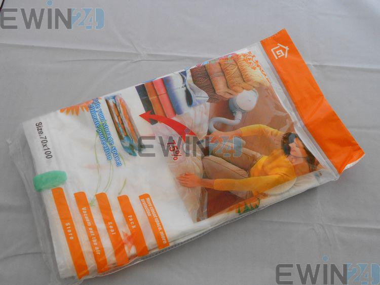 50x60CM high quality VACUUM COMPRESSION STORAGE BAGS-Assorted Sizes Pack for Space Saving Packaging for Your Clothe