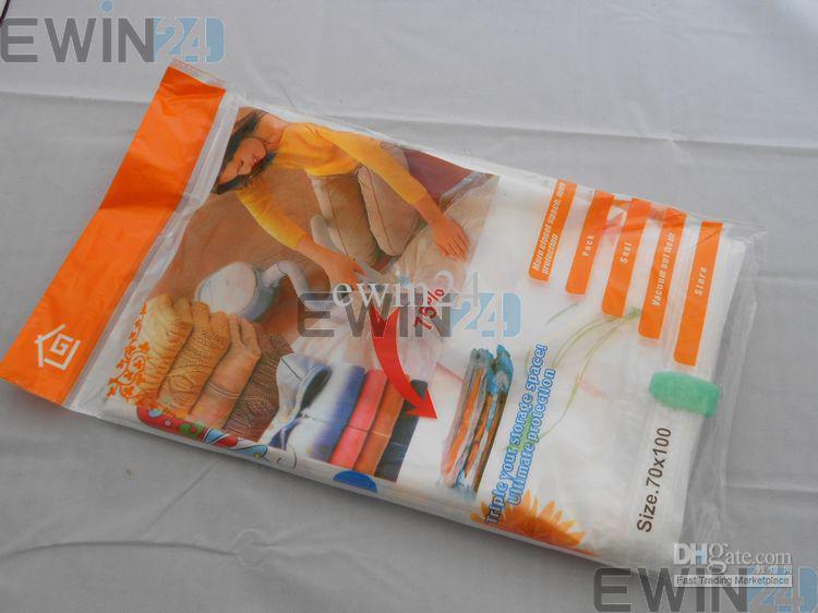 50x60cm Hoge kwaliteit vacuümcompressie opslagtassen-diverse maten pack voor ruimtebesparing verpakking voor uw kleed/ partijen gratis verzending