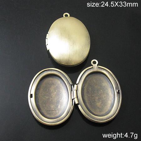 Beadsnice DIY Keepsake Locket Pendants 여성을위한 도매 23x30mm 목걸이 펜던트 Antiqued 은색 보석 ID20097