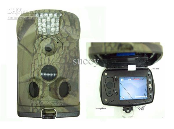 Ltl acorn 6210MM 12MP 1080P HD MMS scouting trail camera GSM/GPRS IR hunting camera+video 6210M