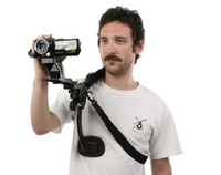 vedio kameras großhandel-handfreie Schulterpolsterauflage für Vedio Camcorder DV / DC