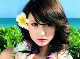 Wholesale Plastic Flowers Orchid - Orchid Flower Hair clips Bridal Girl fascinator artificial flowers Hair clips Girls Beach Holiday Hair accessory Wedding Headdress CL3