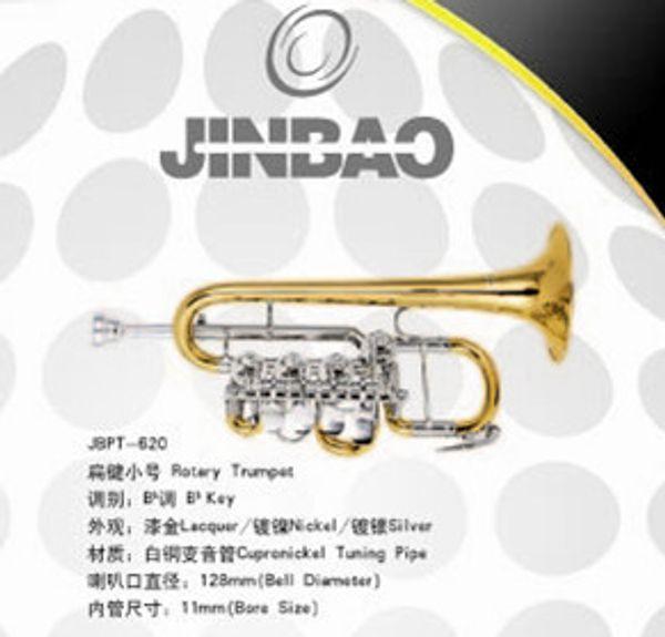 Instrumentos de latão JBPT-620 PICCOLO TRUMPET JINBAO