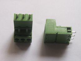 $enCountryForm.capitalKeyWord Canada - 50 Pcs Type Green 3way pin 5.08mm Screw Terminal Block Connector HOT Sale