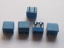 $enCountryForm.capitalKeyWord Canada - 50 Pcs Per Lot 2pin 5.08mm Screw Terminal Block Blue Connector HOT Sale High Quality