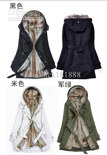 Fashion Women Ladies Winter Super Warm Coat Cold-Proof Outerwear Overcoat Costume Thick Dust Coat