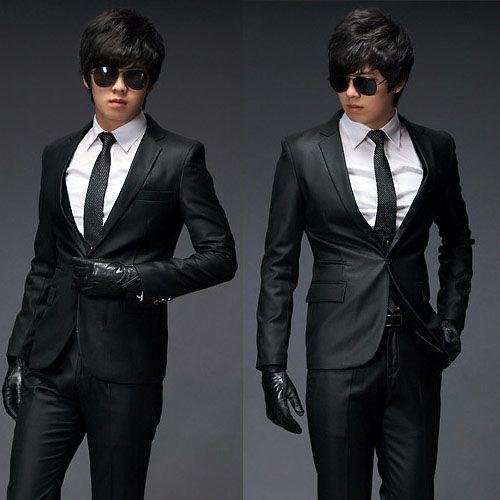 2018 Mens Casual Slim Sexy Blazer One Button Suit Top Dress Jacket X05a M Xl Black From Pacyp