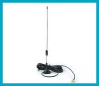 Wholesale Ham Radio Base Antenna - GSM Antenna 900-1800Mhz 7-8dbi SMA Plug straight with Magnetic base for Ham radio Free Shipping