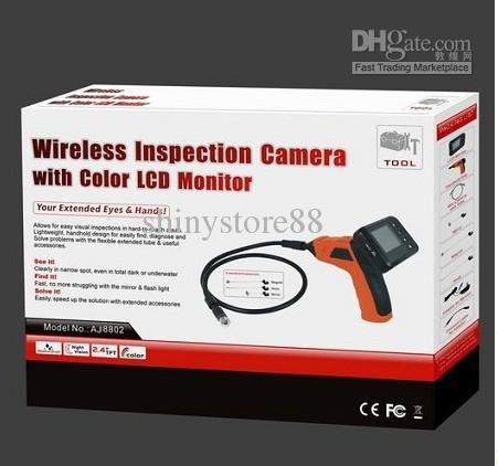 Cámara de inspección inalámbrica con monitor a color LCD Review - Endoscopio Conduit