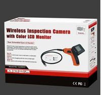 Wholesale Waterproof Wireless Inspection Camera with Color LCD Monitor Reviewer AJ