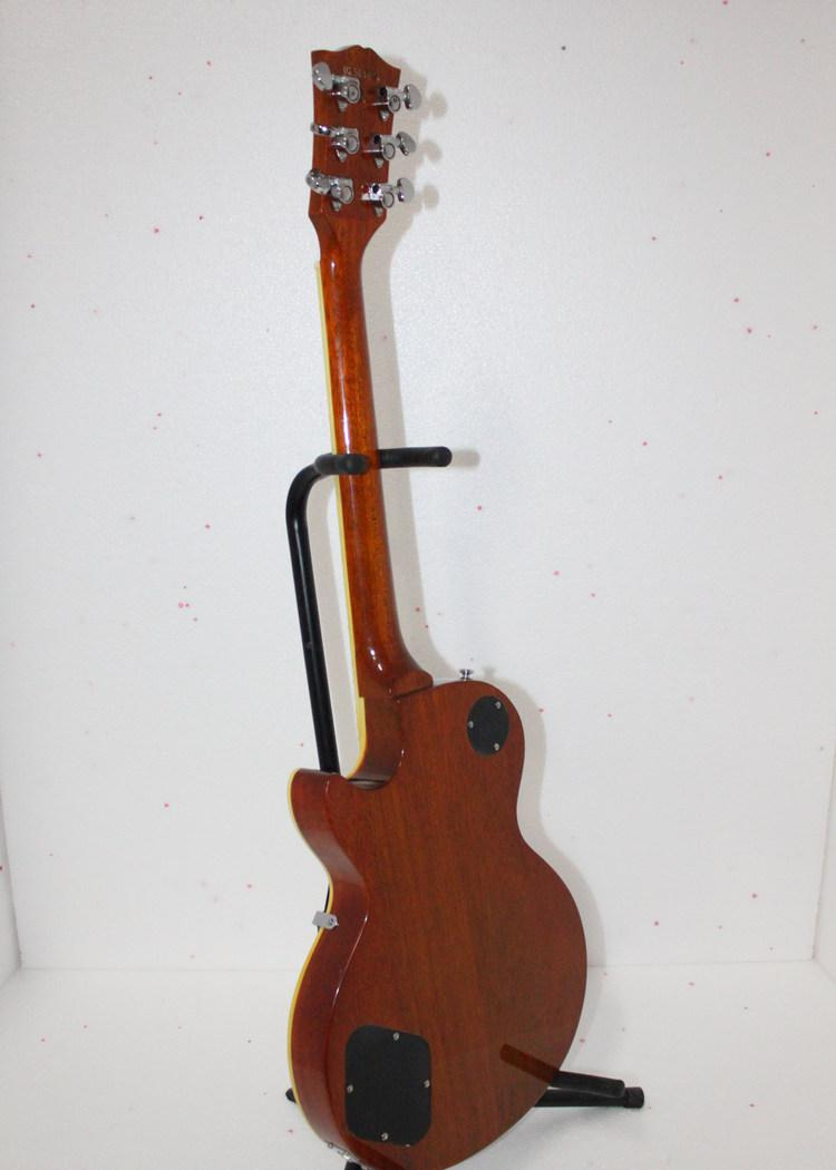 Custom Shop Goldtop Solid Electric Guitar Top Musical instruments