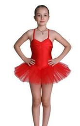 Wholesale Yellow Ballet Kid Dress - kid Ballet dress;pegeant tutu Dance;party dress
