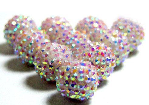 Venda quente uma Mix Esposas De Basquete Grânulos De Cristal Acrílico contas Soltas fit Basketball Wive Earrings