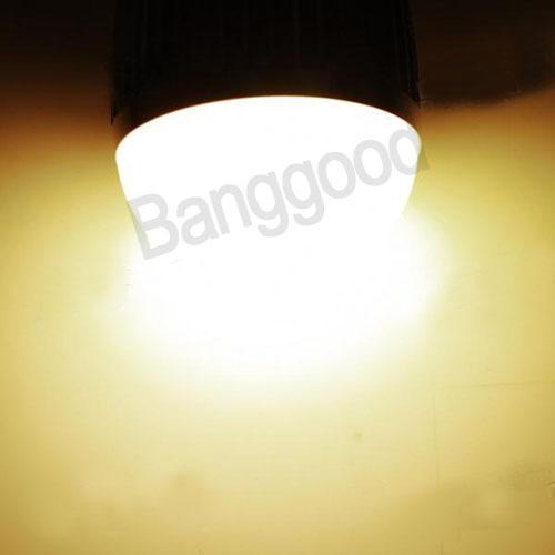 Regulável super brilhante E27 LED globo bola lâmpada lâmpada 7 W branco quente branco quente economia de energia
